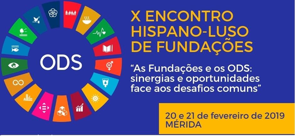 X Encontro Hispano-Luso de Fundações | Mérida 2019